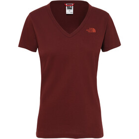The North Face Simple Dome S/S Tee Dame Sequoia Red